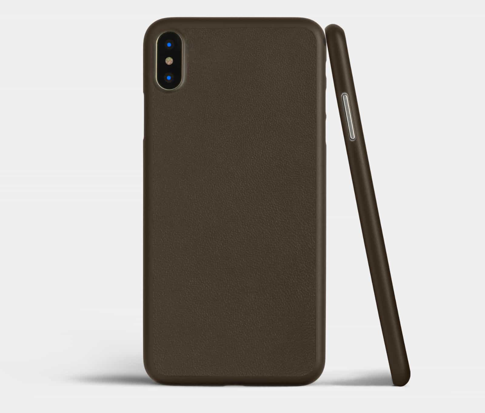 new styles a92bf dd29c Super-slim Totallee leather iPhone X case is a perfect fit | Cult of Mac