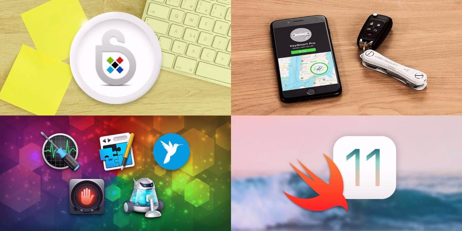 This week's best deals include a 21st century key keeper, top shelf apps, and more.