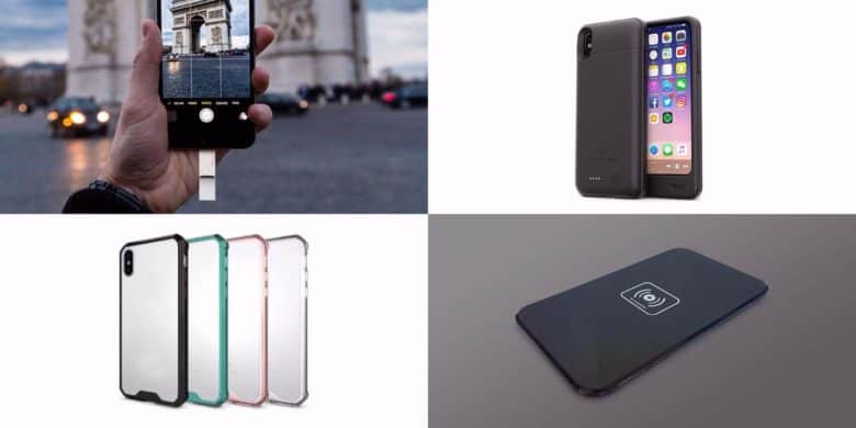 This roundup of iPhone X essentials covers wireless charging, drive expansions, and cases.