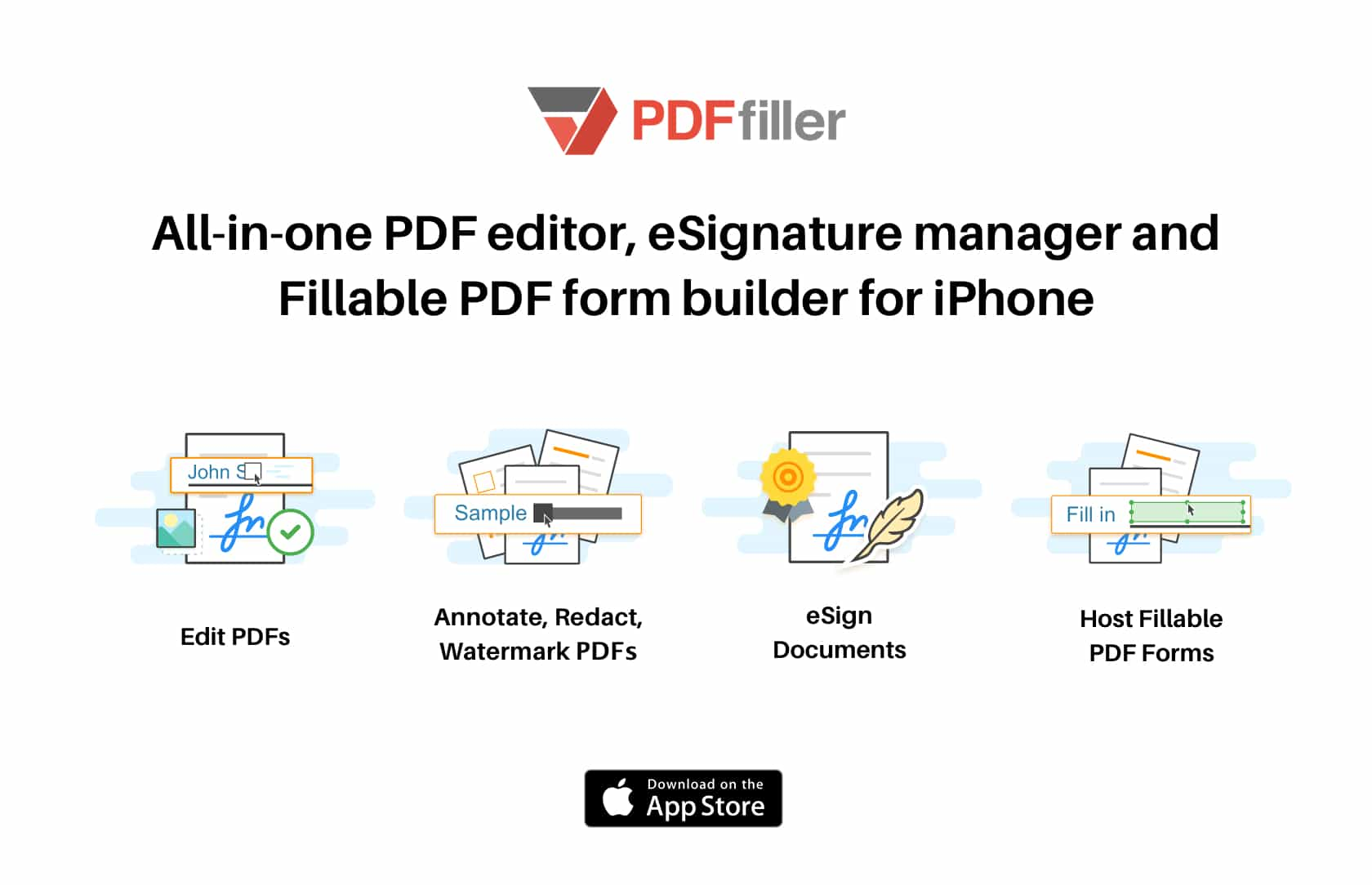 Make quick work of PDFs with PDFfiller on your iPhone.