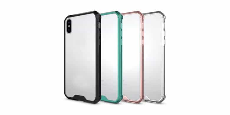 These straightforward, no-frills cases add a layer of protection to iPhone X without obscuring its features.