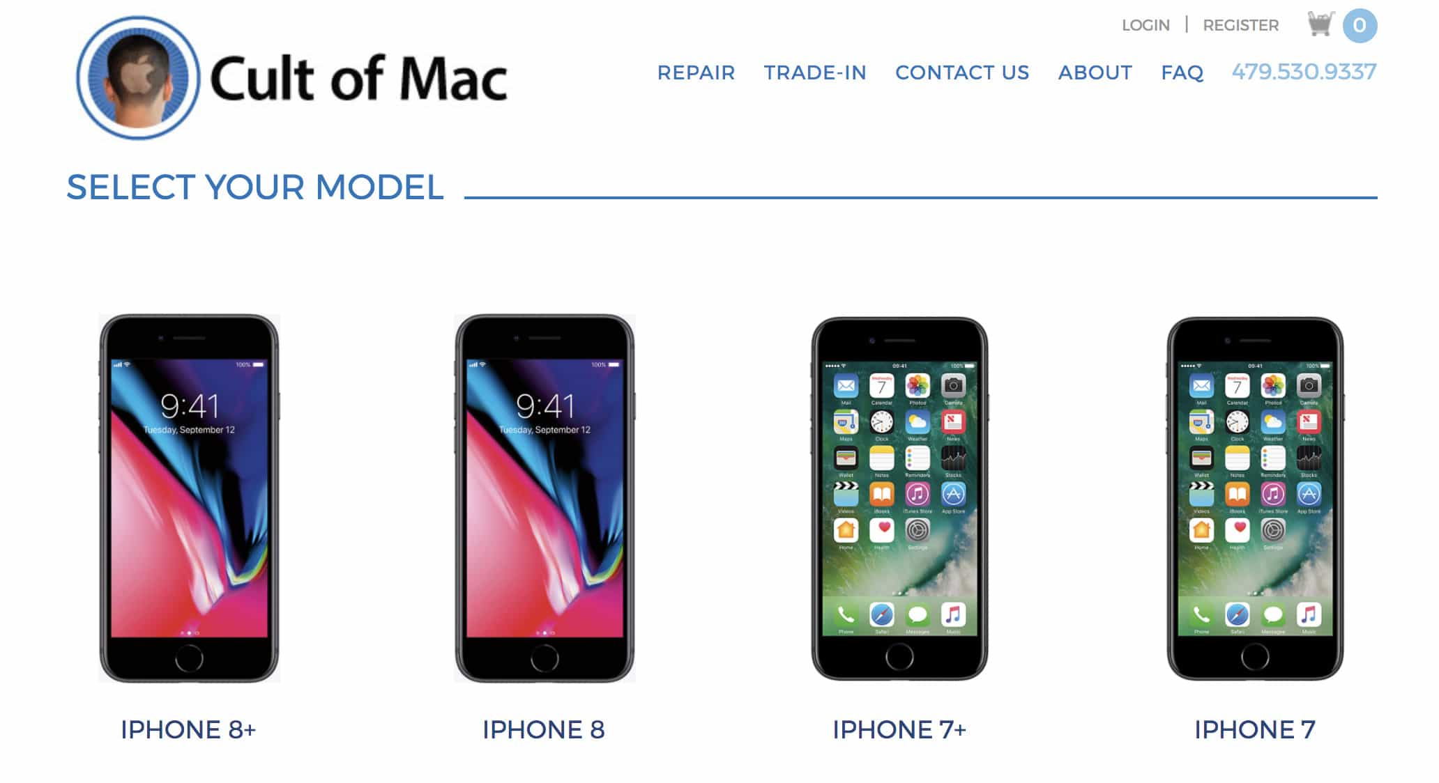 iPhone 8 trade-In from Cult of Mac iPhone buyback service.