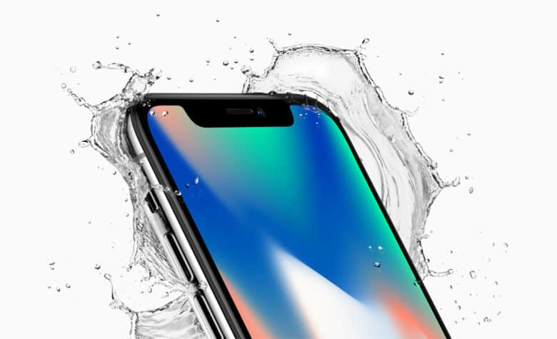 The iPhone X is water-resistant. Just don't drop it. iPhone X repair costs might drown you in debt.