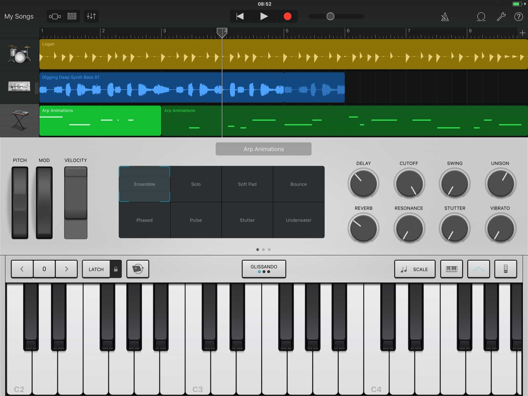 When Apple irons out the wrinkles, GarageBand will be an amazing collaboration tool for musicians.