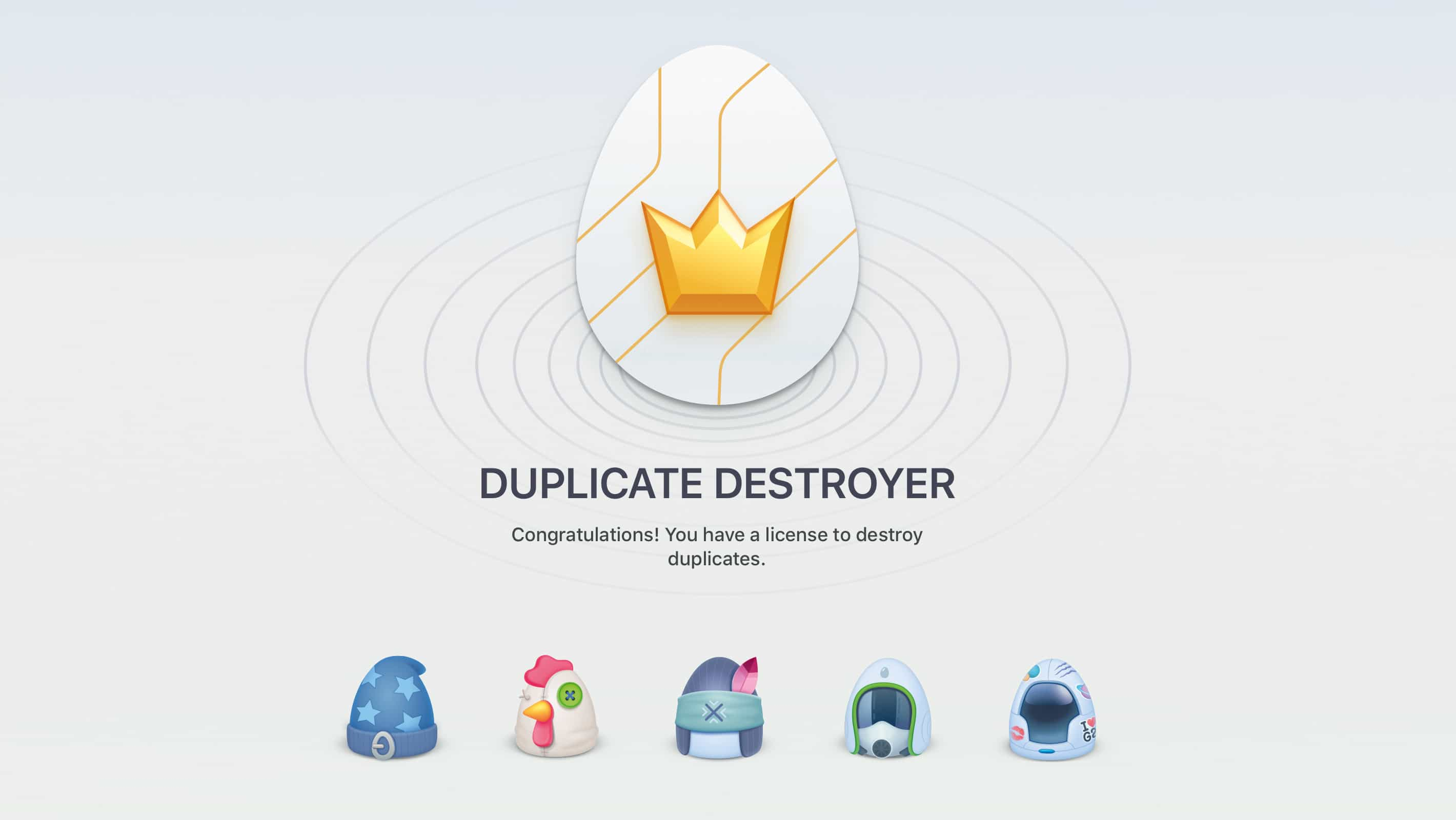 Destroy all duplicates.