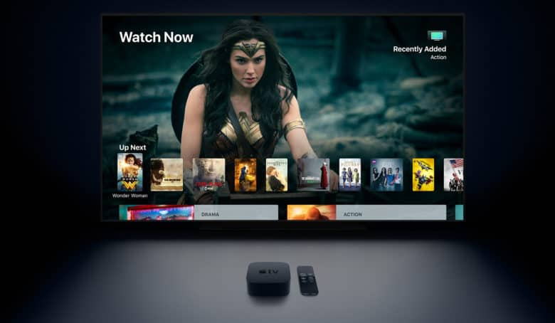 Apple TV 4k Wonder Woman