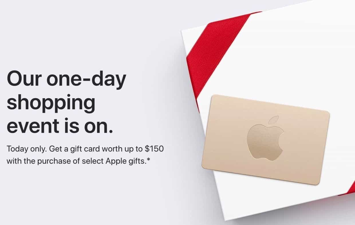 Apple S Black Friday Deals Offer Up To 150 Gift Cards
