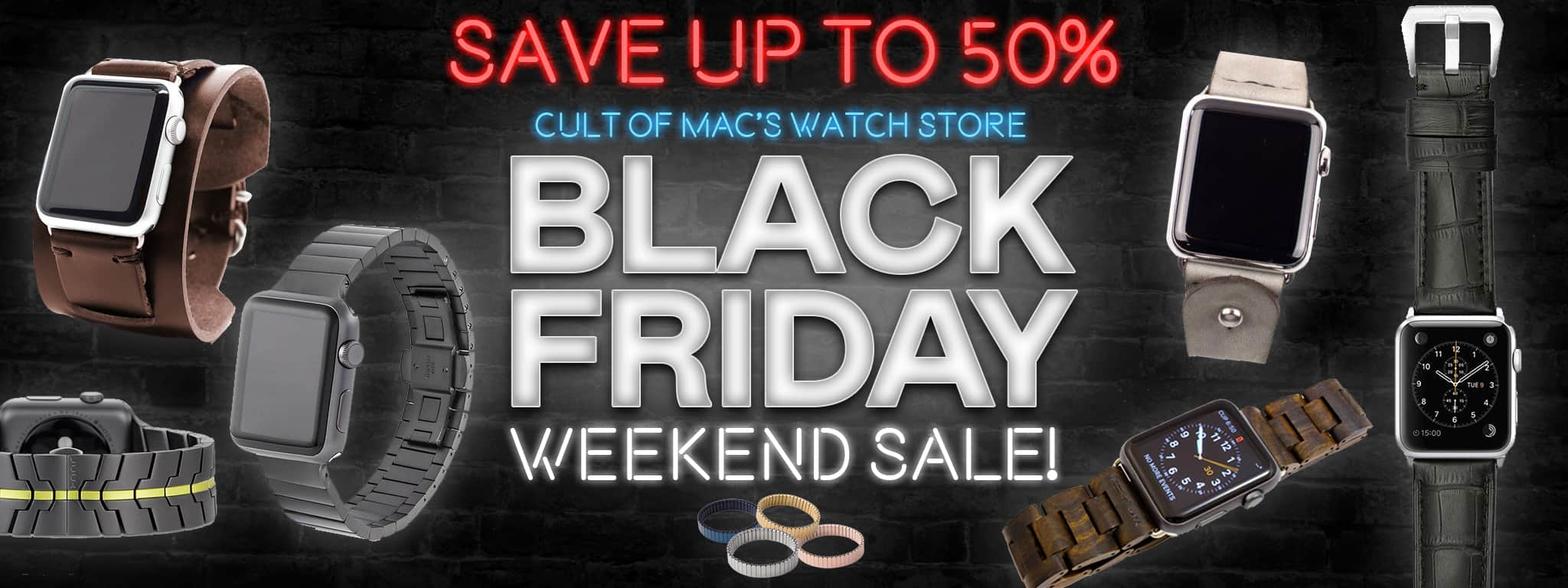 black friday Apple Watch bands sale