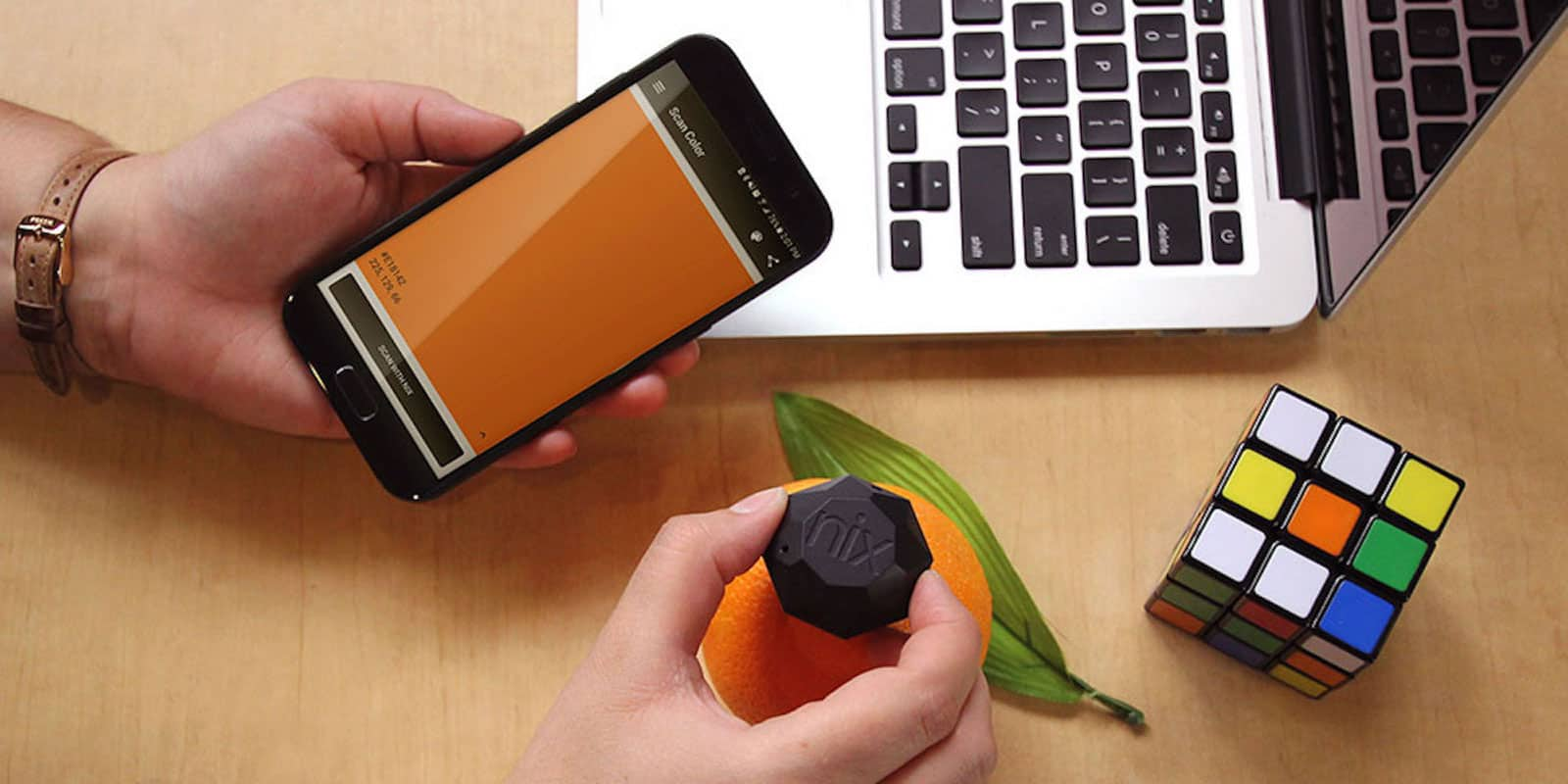 This handheld scanner can provide ultra precise color readings for your digital or paint-based needs.
