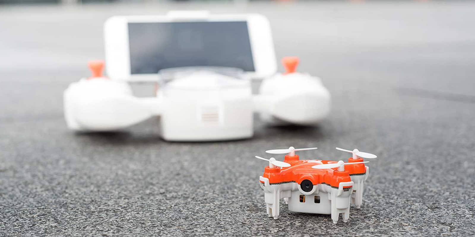 This teensy drone manages to send real-time, HD video straight to your phone.