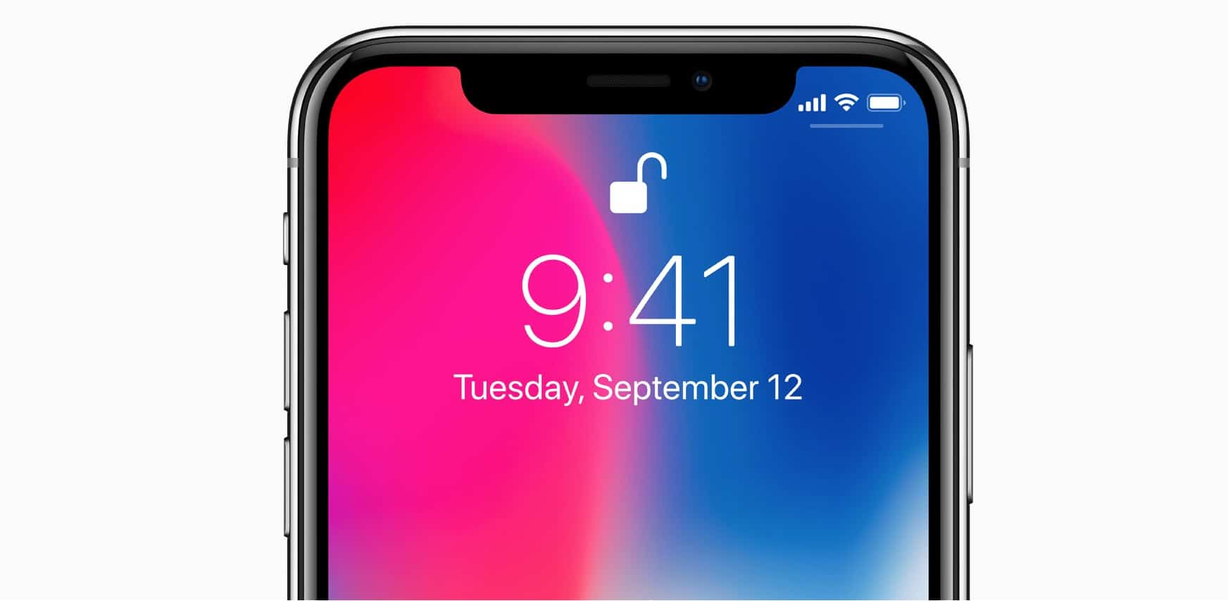 iPhone x battery percentage