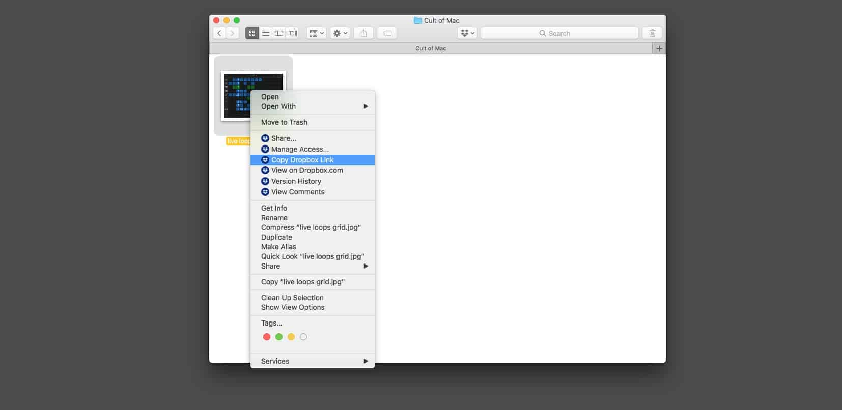 Force Dropbox to download your shared links directly | Cult of Mac