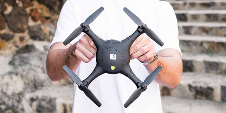 This is a drone that's great for first time and experienced flyers alike.