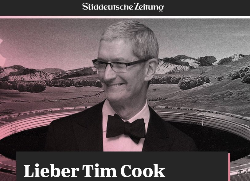 tim cook letter germany s newspaper blasts apple s tax strategy 36901