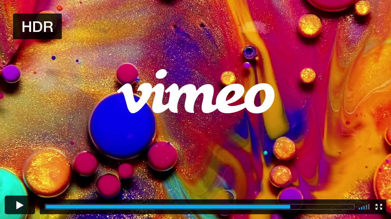 Vimeo HDR