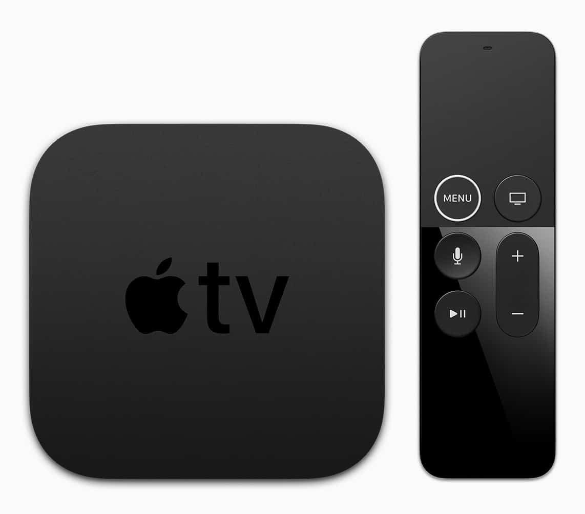 Apple TV 4K with Siri remote