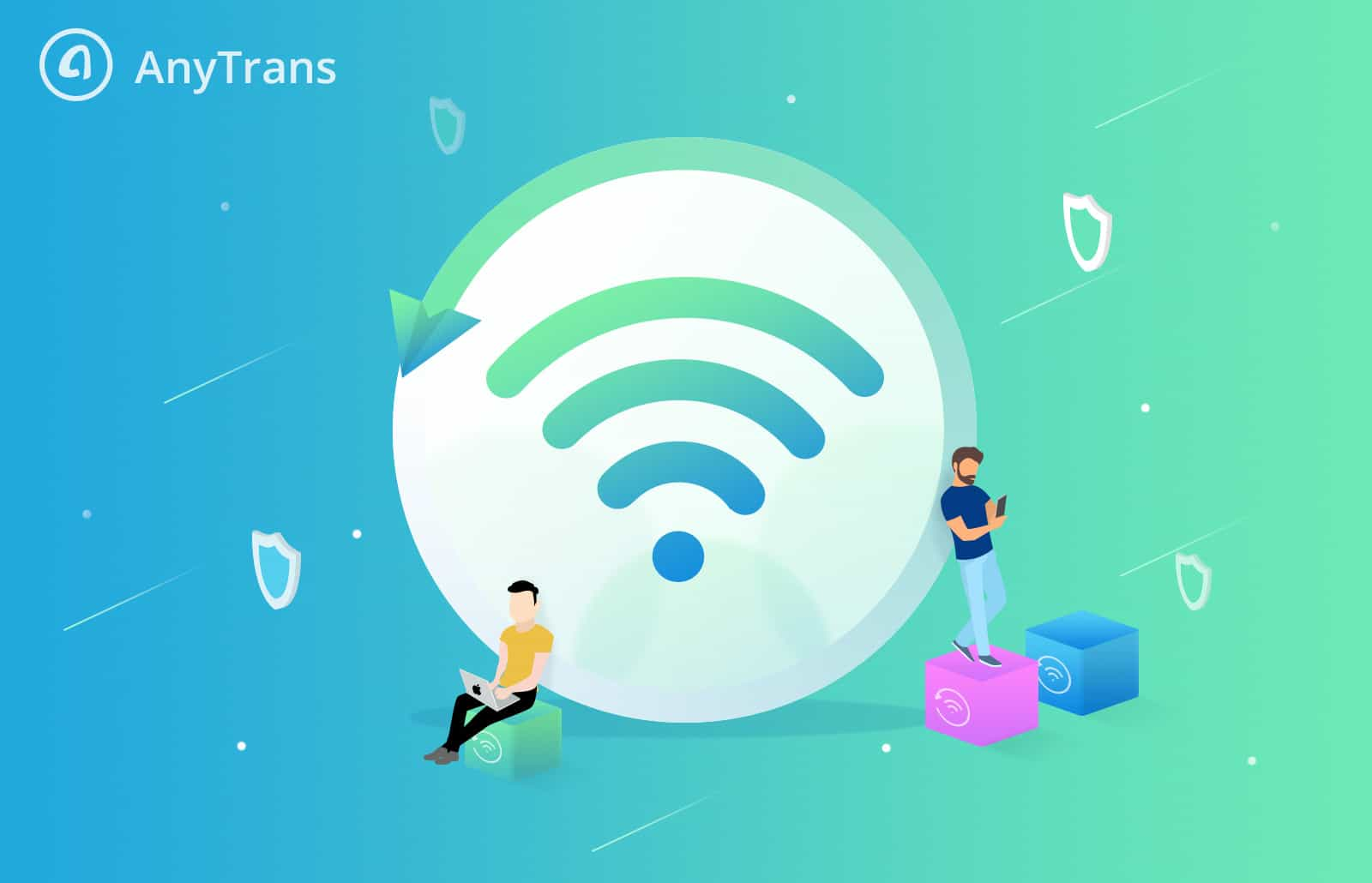 With AnyTrans' new Air Backup feature, you can wirelessly and automatically back up all your iOS devices.