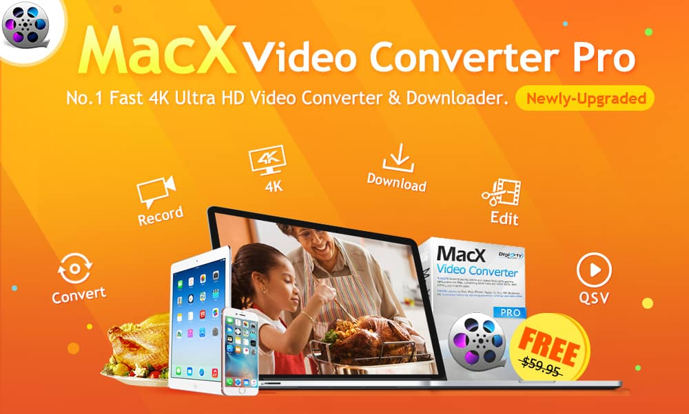 MacX Pro might be the fastest 4K video converter.
