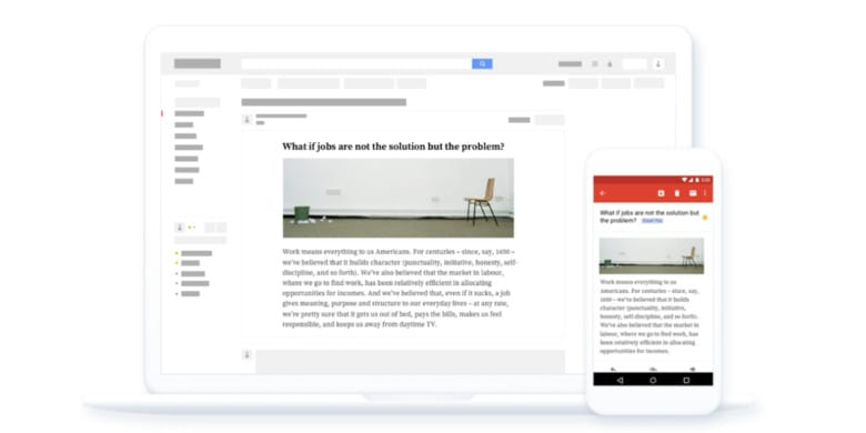 Send those articles clogging up your browser tabs straight to your inbox, in mobile-friendly formats.