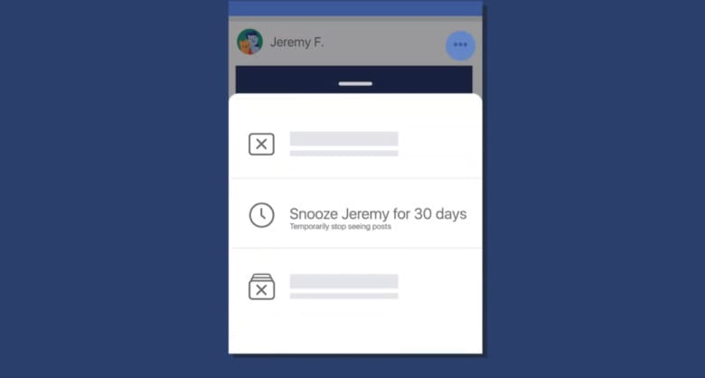 Facebook Introduces Snooze Feature to Temporarily Unfollow Friends