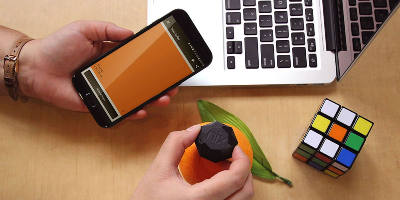 This ping pong ball-sized sensor offers precise color codes for paint or digital use.