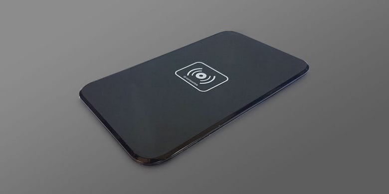 Getting a new Qi enabled phone for Christmas? With this pad, you can charge it wirelessly.