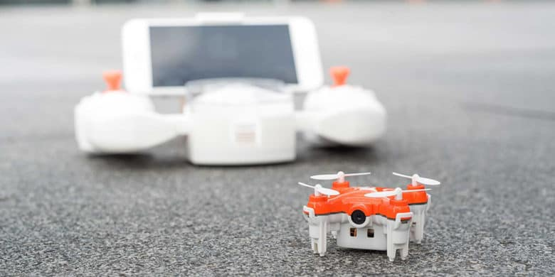 This might be the smallest drone out there, but it's still big on fun.