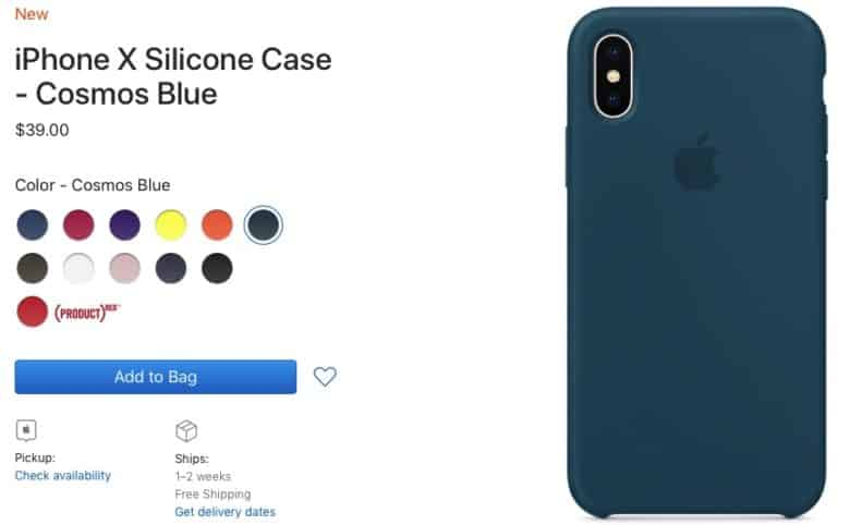 buy online b5c0a 73ed9 iPhone X Silicone Case and Apple Watch Sport band available in new ...