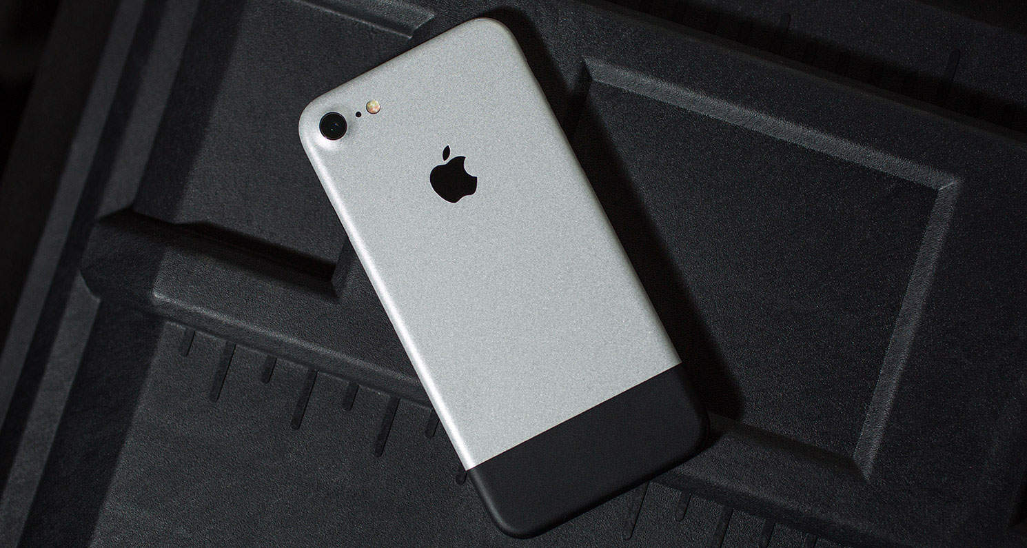 timeless design 17893 cb6d6 Slickwraps' Anniversary Skin iPhone X case is a total throwback