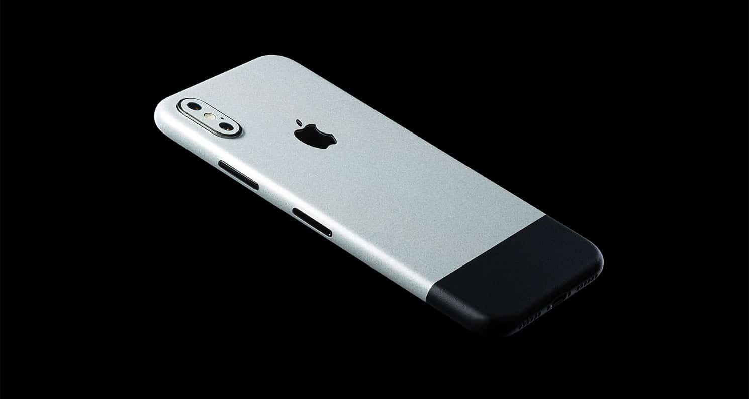The Anniversary Skin gives will disguise your X as the original iPhone.