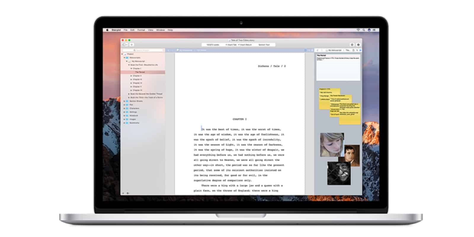 This writing app was designed to make it easy to switch between mobile and desktop platforms.