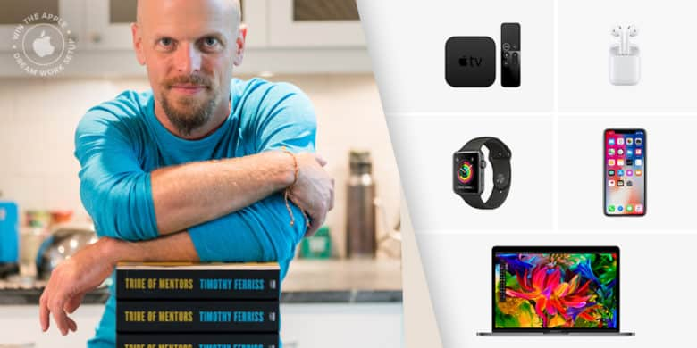 Tim Ferriss Apple dream setup giveaway