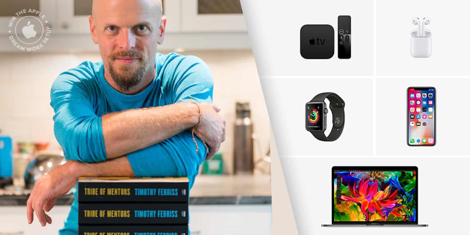 Tim Ferriss Apple dream setup giveaway