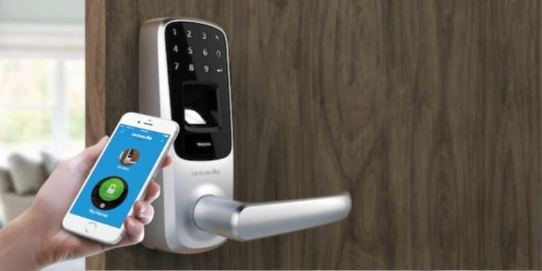 Add fingerprint, cell phone, and digital code options to your home or office door locks.