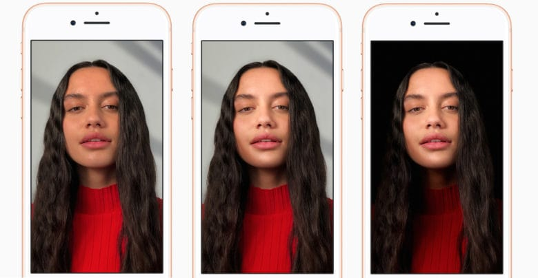 Portrait Lighting in selfies. Humankind can now sit back and relax.