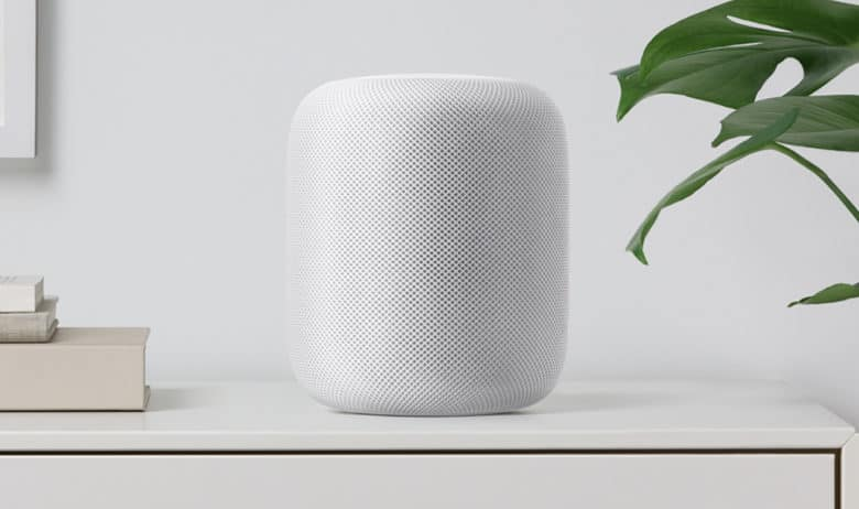 The HomePod was a no-show in 2017.