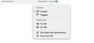 iOS Mail filters quickly tame overflowing mailboxes | Cult