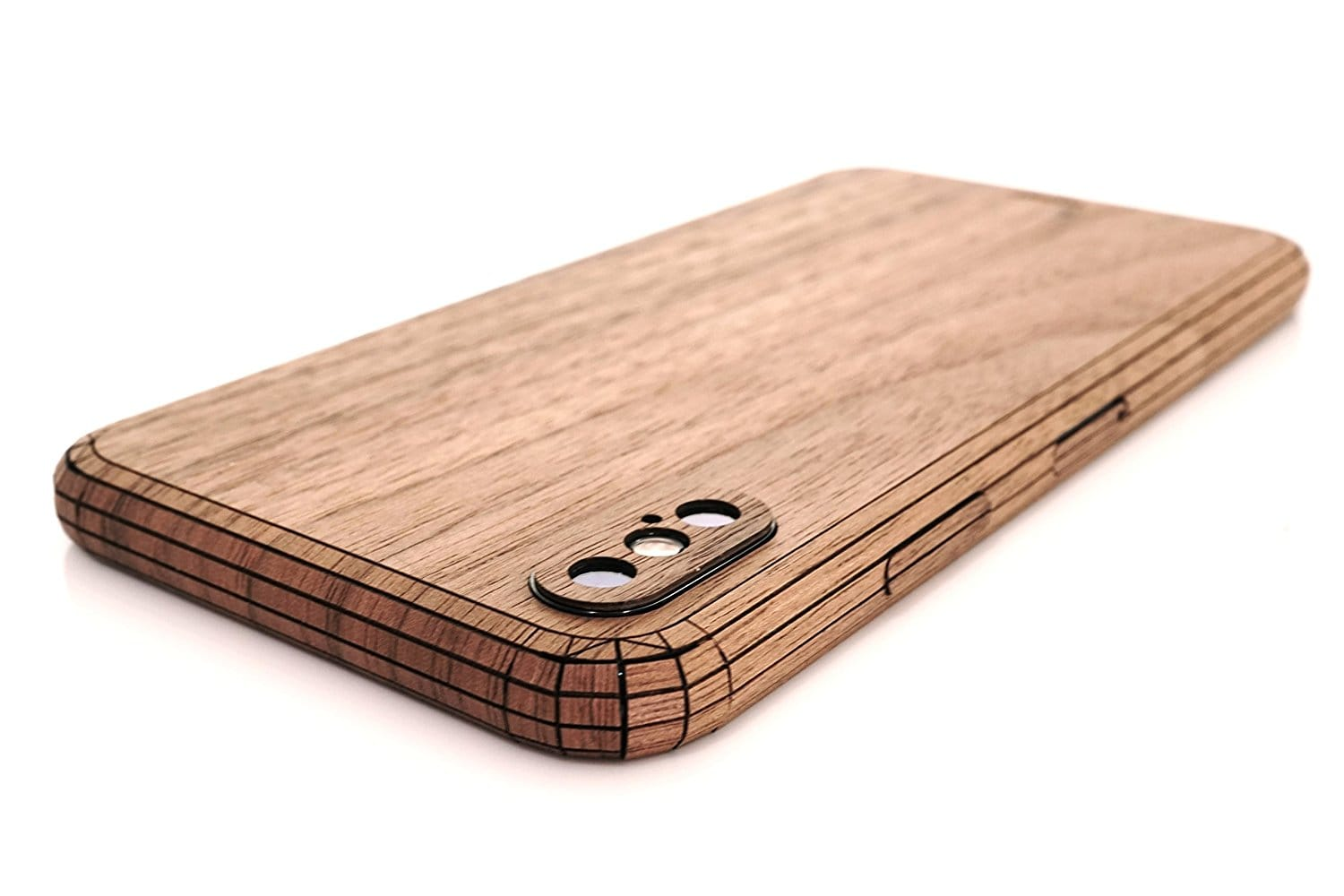 Toast wood cover for iPhone X