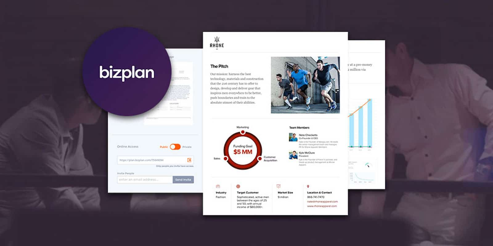 Bizplan is a simple, central tool for planning and launching your startup business idea.