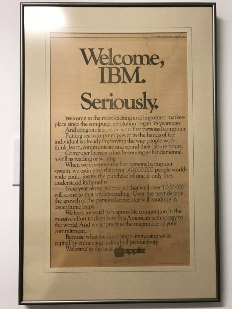 Welcome IBM
