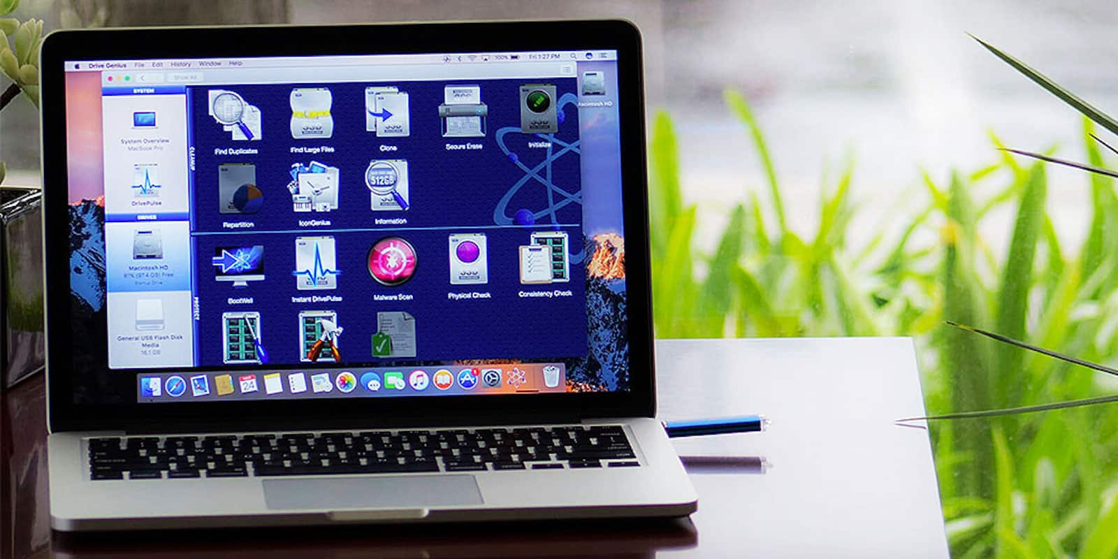 This app is packed with tools to keep your Mac drive clean and healthy.
