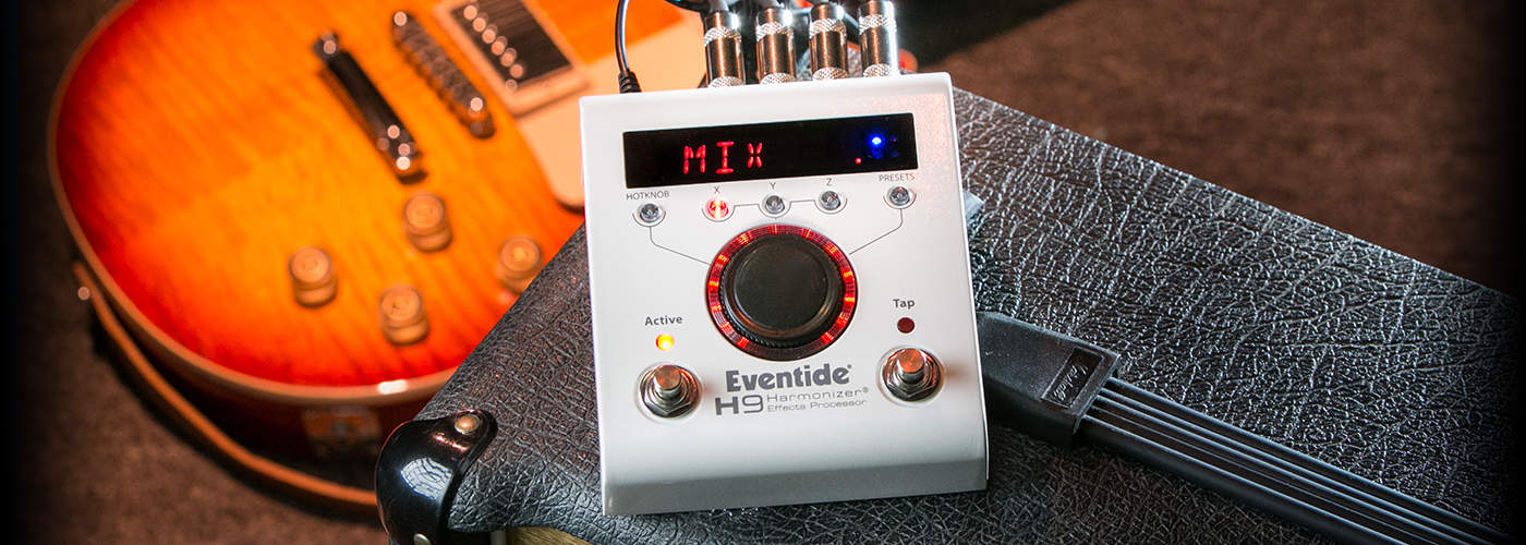 The Eventide H9 is designed to be controlled with an app.