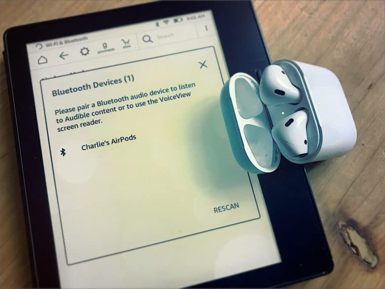 kindle AirPods