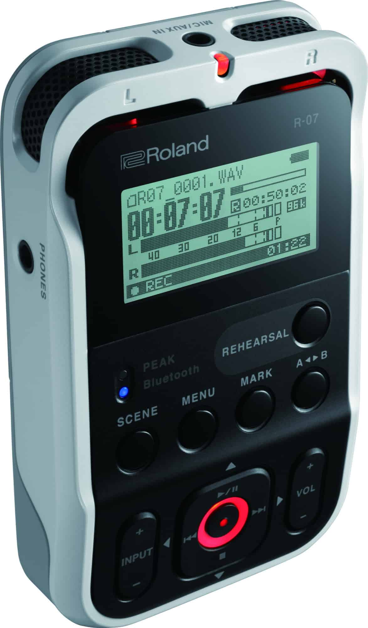 The Roland R-07 recorder even looks super-cool.