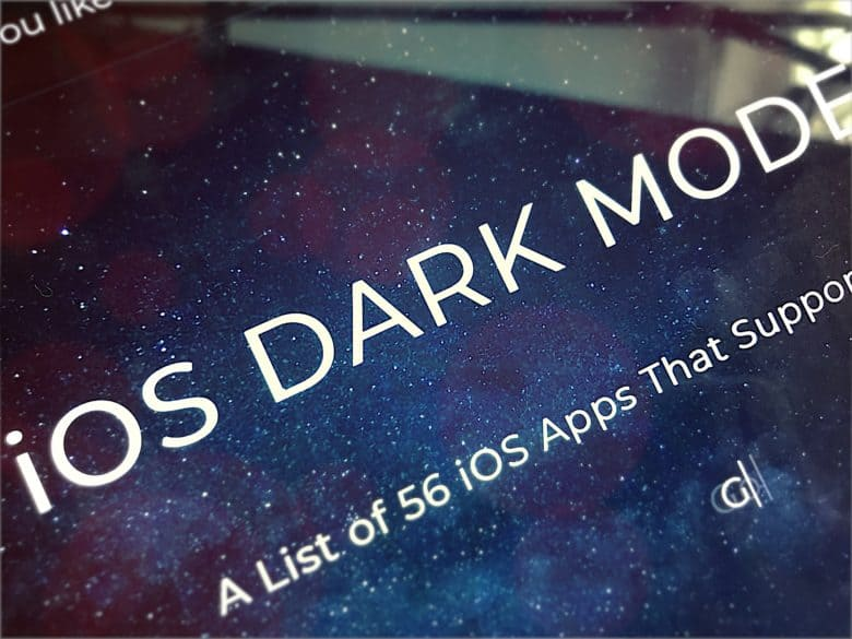 Dark Mode List Lists Iphone X Apps With Dark Mode Cult Of Mac