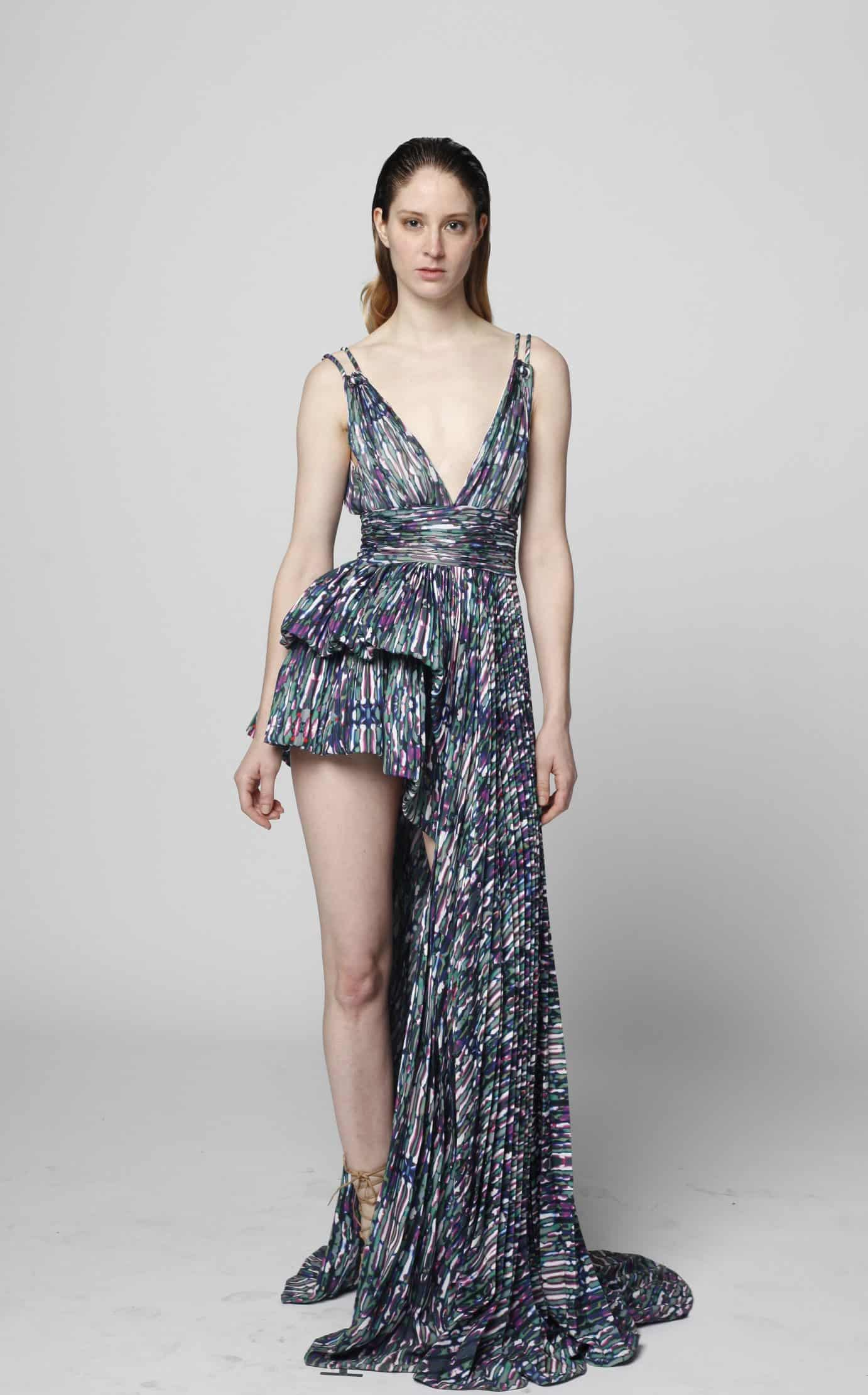 This dress was created with an Epson printer.