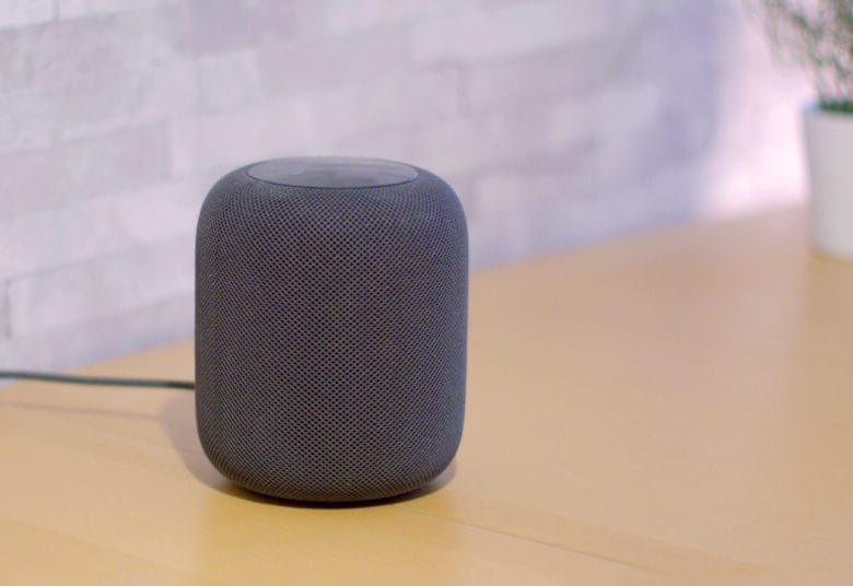 Apple HomePod smart speaker Listening History