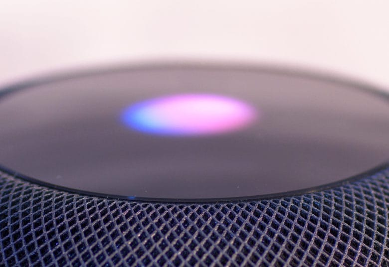 HomePod Siri display