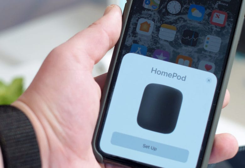 HomePod review: HomePod setup: couldn't be quicker or easier
