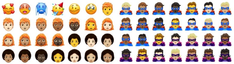 157 New Emojis Are Coming To Smartphones In 2018 зурган илэрцүүд